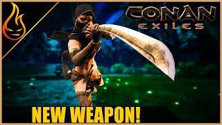 New Weapon And Bow Update Conan Exiles