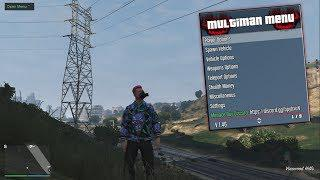 GTA 5 Online PC 1 46 - Multiman V2 5 Mod Menu *Undetected (Free Download)