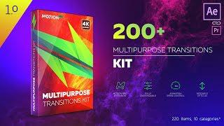 200+ Multipurpose Transition Toolkit for After Effects | Review
