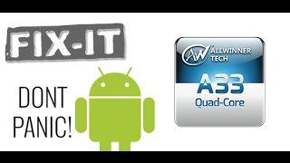 Скачать Allwinner A33 Tablet Unbrick and Hard Reset easy
