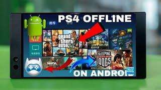 Get Ps4 Emulator Offline For Android || Play Ps4 Games On Android Offline!
