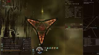 EVE Online Abyss Tier 2 Site speed run on Gila