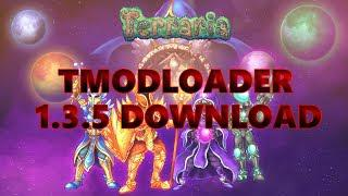 Terraria - How to install Tmodloader for 1 3 5!