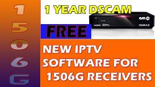 NEW 1506G IPTV 1 Year FREE Dscam New Software- Dish Network Zone