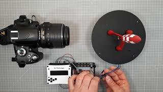 Arduino Controller for DIY Automated Turntable with Camera Shutter for 360°  Product Photography