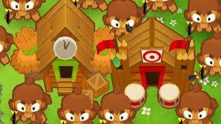 Bloons Tower Defense 6 - The Monkey City + Primary Mentoring Deflation Mode  Strategy