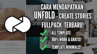 #TUTORIAL DOWNLOAD UNFOLD FULL PACK APK MOD #SECIKO