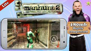 Manhunt 2 Lite Highly Compressed iso Game Download For ppsspp (PSP) Android  | Best Settings