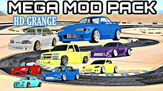 FR LEGENDS • MEGA MOD PACK V3 • 2019 GT86,350Z,R32,FOXBODY AND MORE BETA  MODS V3