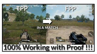 Skachat How To Change Camera View Fpp And Tpp In A Match Pubg - how to change camera view fpp and tpp in a match pubg mobile 100 working with proof