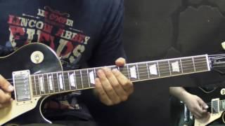 Gary Moore - The Messiah Will Come Again (INTRO) - Blues Guitar Lesson  (w/Tabs)