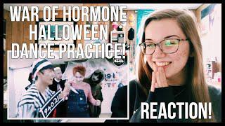 "BTS (방탄소년단) ""War of Hormone"" Halloween Dance Practice REACTION!"