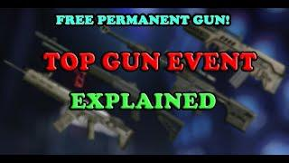 WARFACE - FREE PERMANENT KREDIT WEAPON - Top Gun Event Explained