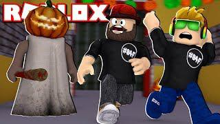 GRANNY GONE CRAZY ON HALLOWEEN / ROBLOX HORROR MULTIPLAYER GAME