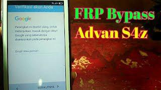 скачать Advan S4z Frp Bypass Google Account Terkunci Akun Google