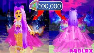 BUYING ALL NEW GALAXY WINGS AND TRAIN SKIRT! 100,000 DIAMOND SPENDING  SPREE! NEW Royale High Update