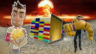 Building Lego Fortress to Survive a NUKE! - Garrys Mod Gameplay - Gmod  Roleplay - Nuclear Survival!