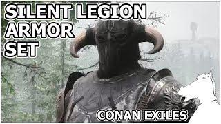 New Armor Set Look Awesome! Silent Legion Armor Set   CONAN EXILES The  Frozen North [TIPS]