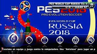PES PSP Chelito V5 C19 World Cup Russia 2018 Edition
