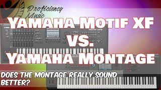 Yamaha Motif XF vs Yamaha Montage: Does the Montage REALLY sound better?