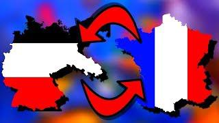 Germany & France Swapped! | Hearts of Iron 4 [HOI4]