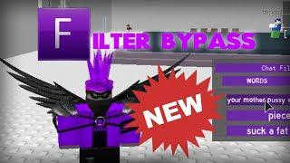 ROBLOX NEW Exploit! || Chat Filter Bypass || 2/19/2019 || UPDATED AND WORKS  FULLY