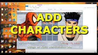 How to Add Characters in Mugen