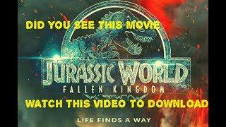 HOW TO DOWNLOAD JURASSIC WORLD FALLEN KINGDOM IN TELUGU, ENGLISH, HINDI,  TAMIL LANGUAGES
