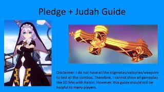 Honkai Impact Pledge and Judah Guide (Global)