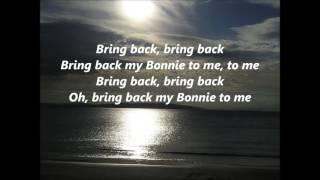Celtic Songs My Bonnie Lies Over The Ocean Words Lyrics Best Top Por Favorite Sing Along Song