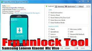 All In One Frp unlock Tool | Unlock all Android Device 2019