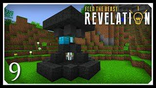 How To Play FTB Revelation | Auto Mining Resources! | E09 Modded Minecraft  For Beginners