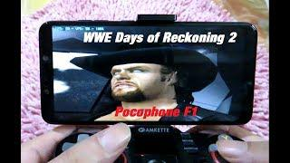 Pocophone F1 WWE Day of Reckoning 2 60fps Dolphin emulator Android Gameplay  Snapdragon 845