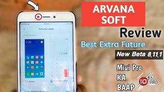 ARVANASOFT Miui Pro Beta 8 11 1 Review For Radmi 4/4x Note4/4X Full Test  And Battery Backp