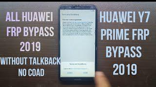 All Huawei Y7 Prime (LDN-L21) Frp Bypass 2019 Huawei y7 Prime Frp Without  Talkback NO PC NO Coad