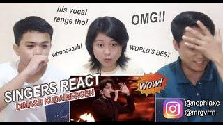 [SINGERS REACT] Dimash - Worlds Best 2019 Performance