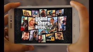 GTA5 ON ANDROID | Download Gta5 apk for android | Gta v android & ios  Gameplay | 2018