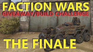 Crossout GIVEAWAY Stream - FACTION WARS FINALE