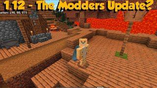 Minecraft Bedrock 1 12 Beta Out Now - The Modders Update?