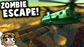 ZOMBIE SURVIVAL HELICOPTER ESCAPE! | Ravenfield Best Mods Gameplay (Early  Access 11)