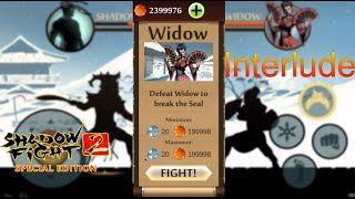 Shadow Fight 2 Special Edition Mod | Interlude Black Widow Battle Android  Gameplay
